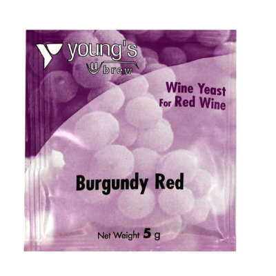Дрожжи винные  Young's Burgundy Red Wine  5g