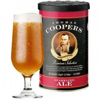 Экстракт Coopers Sparkling Ale, 1,7кг